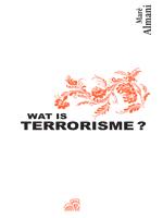 Wat is terrorisme?